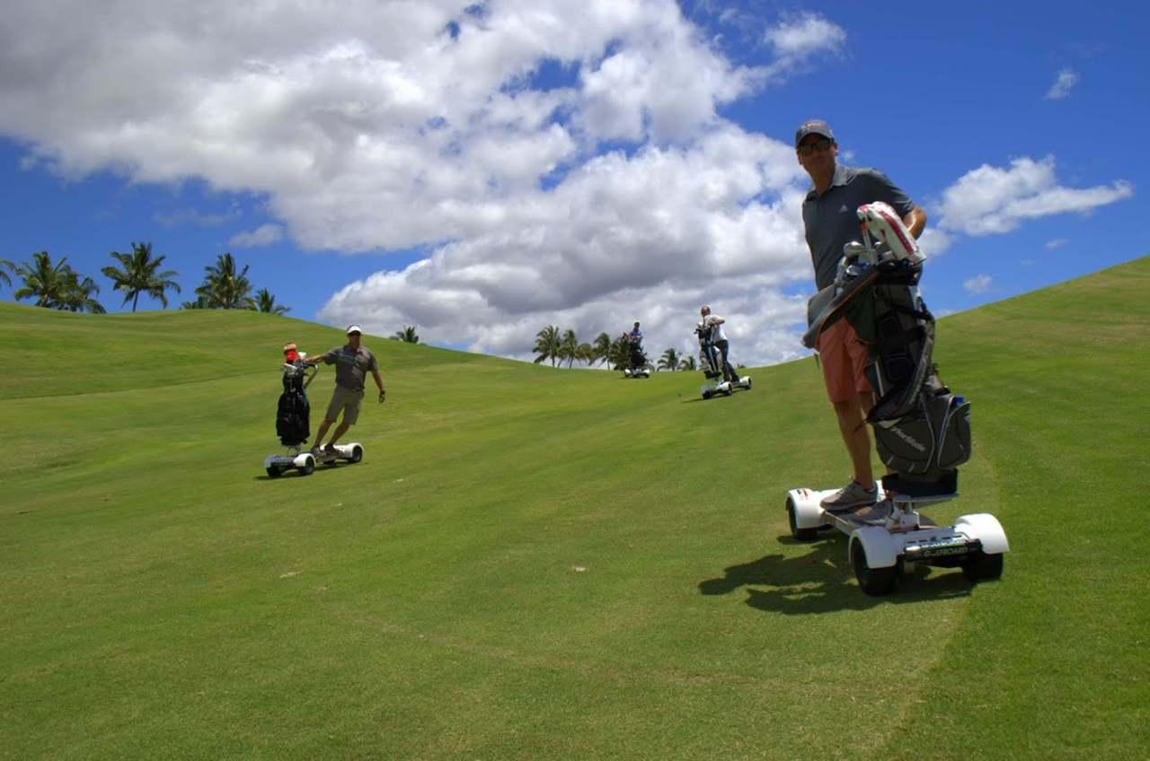 Surf's up on Hawaii's Mauna Kea Resort golfcourse