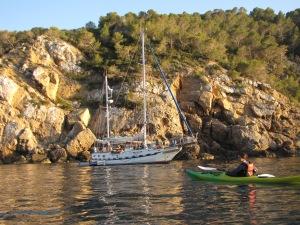 Kayaking in Ibiza