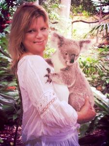 with koala