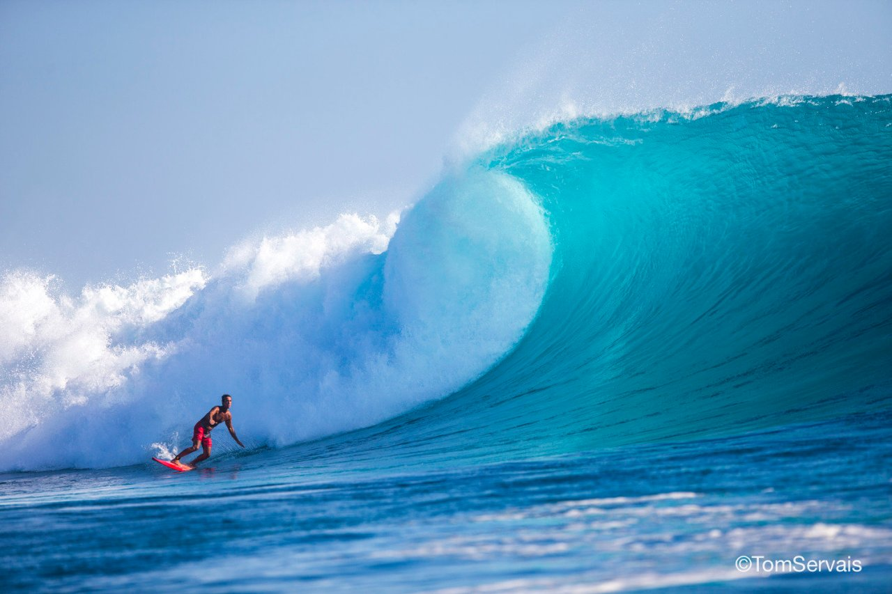 Tom Servais reveals the best places in the world to catch a perfect wave